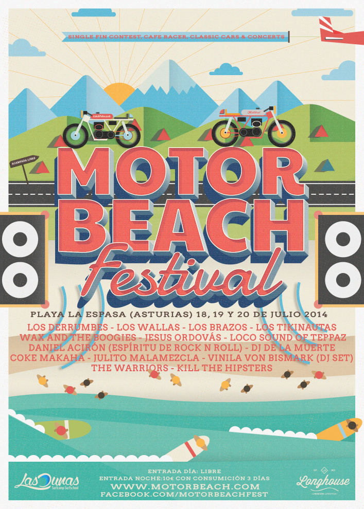 MOTORBEACH FEST 2014 18/19/20 DE JULIO PLAYA DE LA ESPASA, COLUNGA MOTORBEACH-2014-CARTEL-OFICIAL1