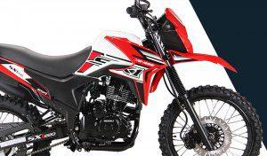 Genesis 250cc , moto de la aventura